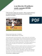 Santos Entra Na Lista Dos 10 Melhores Clubes Do Mundo Segundo IFFHS