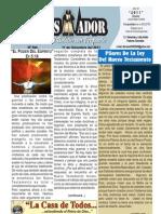 """2011-12-11 """"El Conquistador""""es un publicación de """"LA CASA DE TODOS"""" Chimbote Perú"""