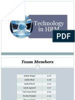 Technology in HRM