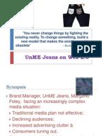 UnME Jeans on WebCOPY