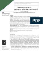 Periodicals Print