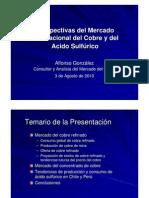 02.- Perspectivas Del Mercado Internacional Del Cobre y Del Acido Sulfurico