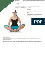 Otthoni jóga gyakorlatok, képekkel » Egészség › Fitnesz - Bien