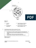 biology peperiksaan akhir tahun sbp 2011 ting 4 Question Paper 1 Final f4 Sbp 2011