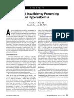 Case Adrenal Insufficiecy
