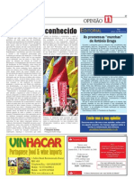 Opinião do Director do quinzenal As Noticias