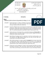 Mock Test Booklet