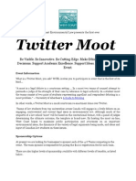 WCEL Twitter Moot Sponsorship