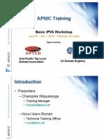 Basic IPv6 Workshop June30 Jul1 2010final