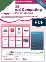 Cloud Forum Asia Brochure