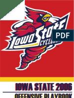 2006 Iowa State University Offense Playbook