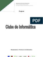 Projecto Clube de Informática