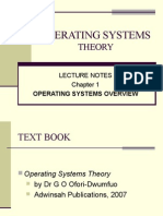 Operating Systems Theory c1