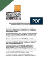 Mario Conde Cierra Con Exito El Primer Congreso de La Sociedad Civil