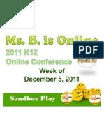 K12 Online Conference 2011