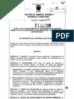 Decreto 1299-08
