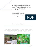 Agriculture Intervention