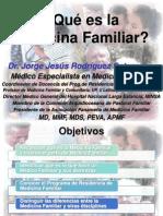 2 Qué es la Medicina Familiar