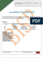 Teradada 13 Installation Guide
