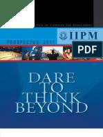 IIPM Prospectus 2011