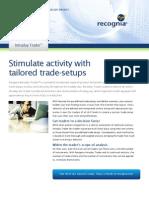 Recognia Intraday Trader Infosheet