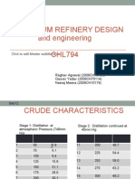 Crude Assay Analysis