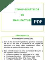 Algoritmos Geneticos en Manufactura