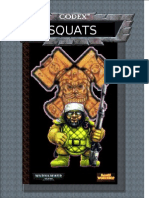 Warhammer 40k - Codex Squats (a Mock Up of How It Should Have Looked for 3rd Edition)