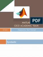 5.CECE Matlab Symbolic