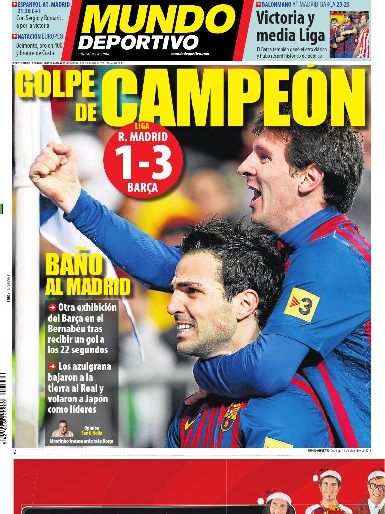 Mundo Deportivo 11 12 2011 9a8038fd94a