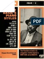 Count Basie's Piano Styles Songbook)