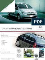Xsara Picasso Accessory Brochure