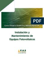 Manual de Instalacion Celdas Fotovoltaicas