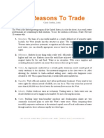 10 Reasons to Trade