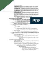 Civil Procedure Outline Number 2 - 1L