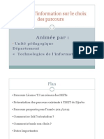 Choix Parcours TI 2011