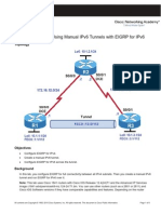 Ccnpv6 Route Lab8 2