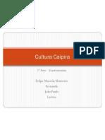 Cultura Caipira