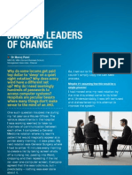 Junior Doctors as Leaders of Change