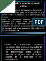 Auxiliares de La Admin is Trac Ion de Justicia