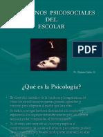 1ra Clase.trastornos Psicosociales