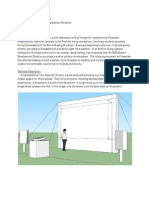 Outdoor Theater Proposal