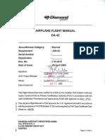Diamond DA42 Twin Star Aircraft Flight Manual