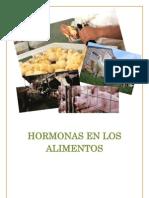 Cómo afectan las hormonas en los alimentos