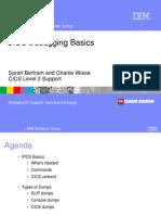 CICS Debugging Basics