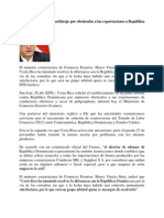 Costa Rica Solicita Un Arbitraje a Rep Dom