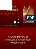 Demystifying Medical Documentation