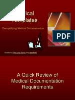 Demystifying Medical Documentation