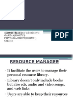 Resource Manager (1)