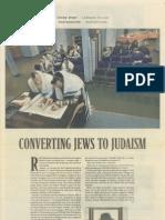 Converting Jews to Judaism